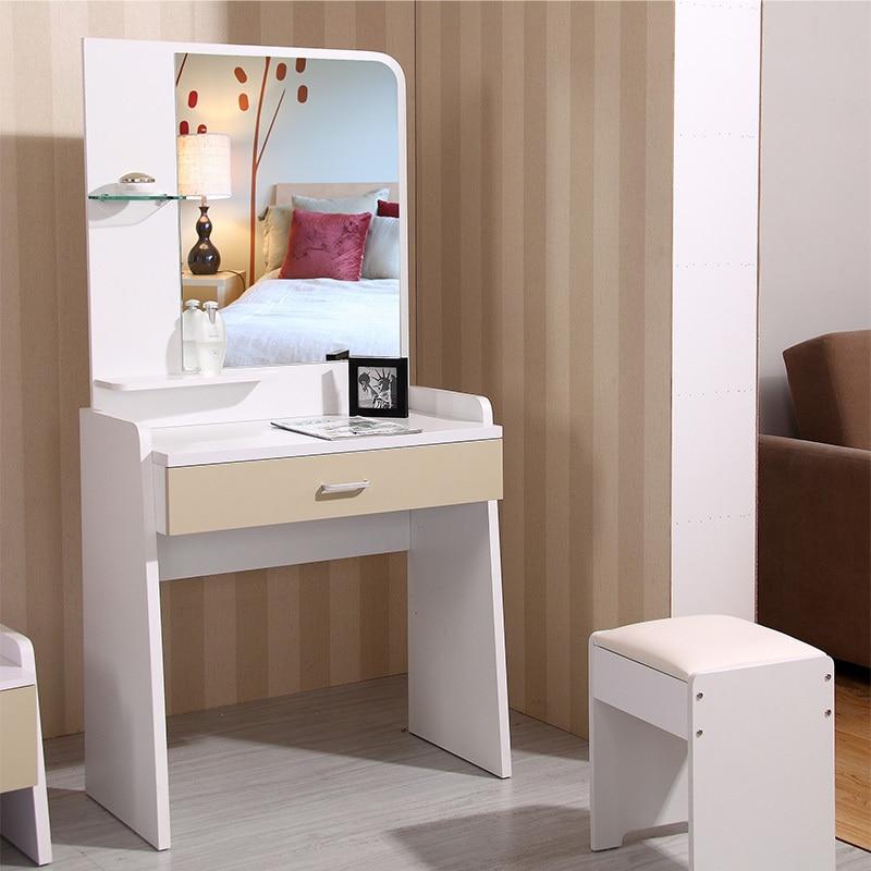 Muebles de dormitorio dresser tocadores de mesas moderno - Dormitorios blanco y negro ...