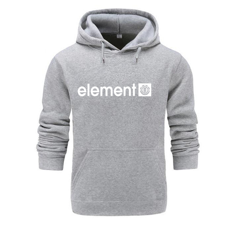 Autumn Winter Brand Mens Hoodies Sweatshirts Men High Quality ELEMENT Letter Printing Long Sleeve Fashion Mens Hoodies 3