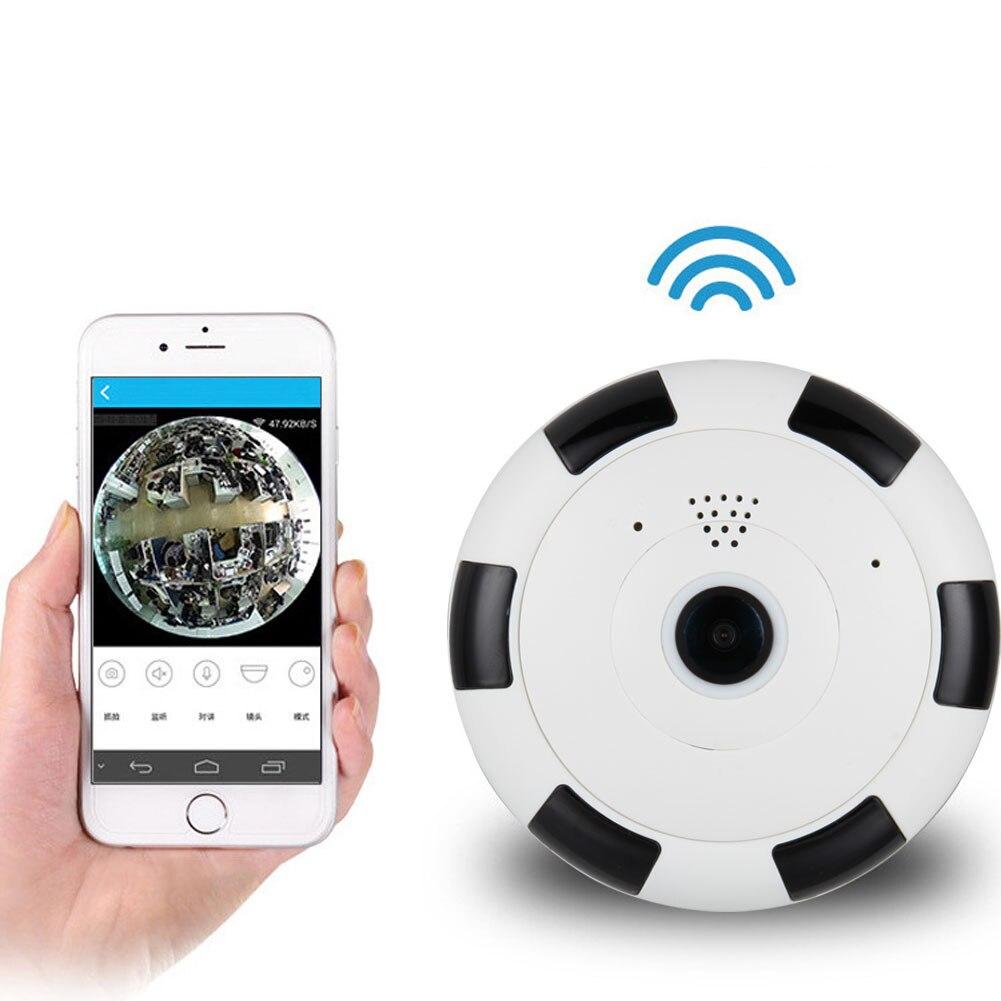 Fisheye Panoramic Wireless Camera Wifi Camera Home Security Surveillance System 360 Degree Webcam LCC77 нивелир ada cube 2 360 home edition a00448