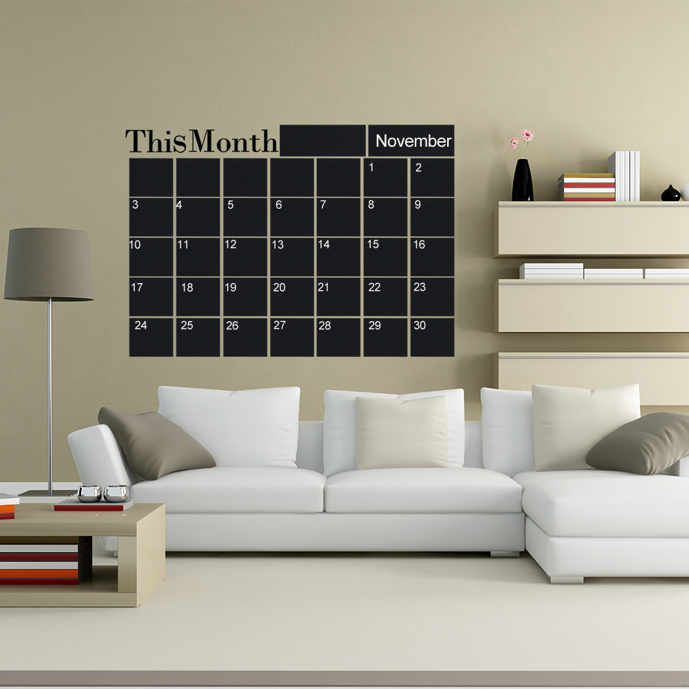 Wall Mounting Month Planner 3