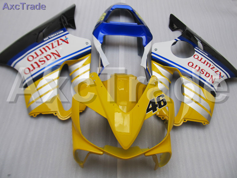 Yellow Moto Fairing Kit For Honda CBR600RR CBR600 CBR 600 F4i 2001-2003 01 02 03 Fairings Custom Made Motorcycle Injection Mold gray moto fairing kit for honda cbr600rr cbr600 cbr 600 f4i 2001 2003 01 02 03 fairings custom made motorcycle injection molding