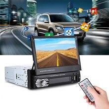 Универсальный 9601 г GPS 7 дюймов tft ЖК-дисплей Экран 1080 P Автомобильный Мультимедийный Плеер bluetooth fm Радио плеер mp5 мультиобласти географические карты дополнительно