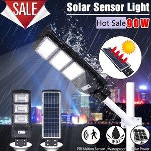 90W Solar LED Street Light Rad