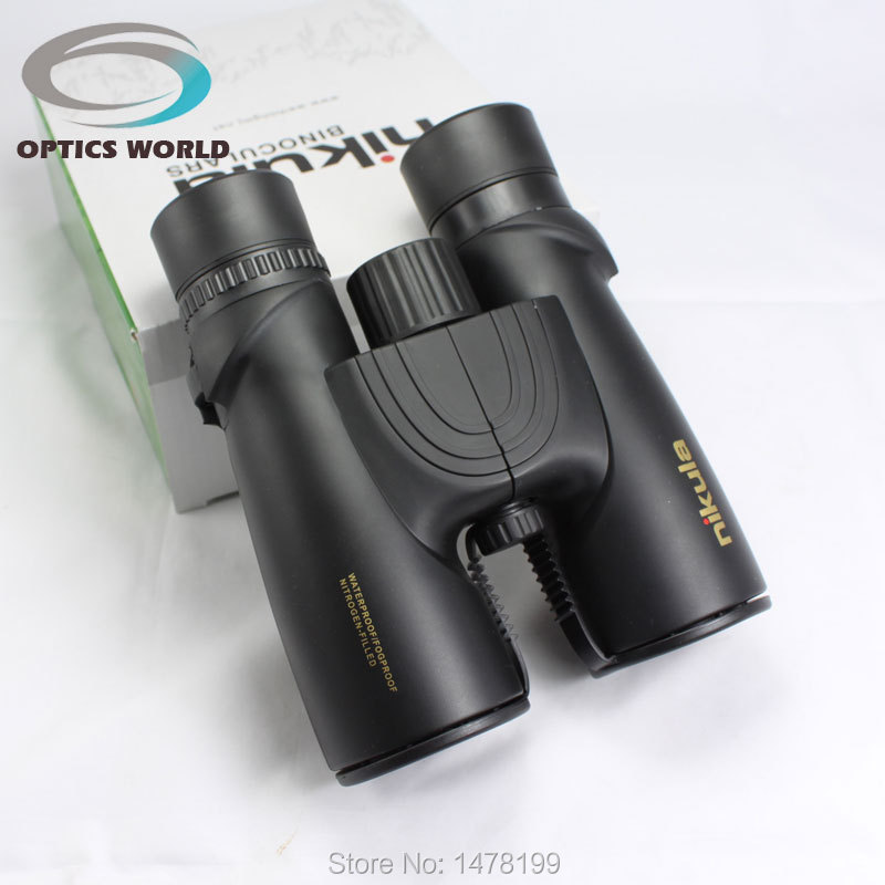 Nikula 10x42 binoculars night vision Telescopio Binoculo Optical Prism Hunting High Quality Tourism bak4 binoculars telescope eyeskey 10x42 portable binoculars camping hunting telescope waterproof night vision tourism optical outdoor sports