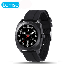 M98 Bluetooth Smart Uhr 1,22 zoll full circle IPS display MTK2502C pulsmesser Vibration Stimme SmartWatch