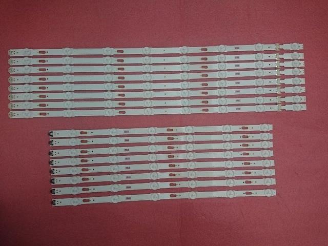 Yeni 16 adet LED aydınlatmalı şerit samsung UN60KU6300 UE60JU6000 UN60JU7100 UE60KU6000 V5DU 600DCA 600DCB R1 BN96 39663A 39664A