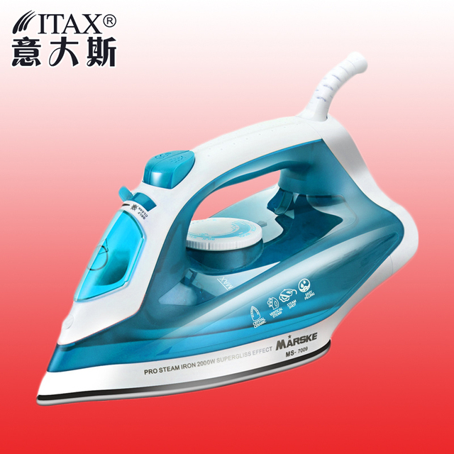 ITAS1306 Innovative color ceramic plate household dry presses garment steamer electric iron clothes steamer drying handheld & ITAS1306 Innovative color ceramic plate household dry presses ...