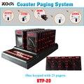 Sistema de paginação Para O Cliente em Espera (1 teclado + 25 pagers coaster)