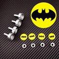 Marco de la Matrícula Tornillos Tornillo M6 DC Héroe Batman Logo Emblema de Acero Inoxidable