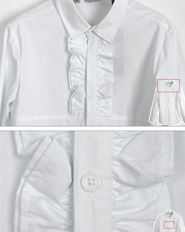 Volants Royale Mode Nouvelle Manches Chanteur Mâle Hommes Longues Costumes À 2015 Non Automne Traditionnels Chemise Mince Vent Printemps FZBCnxq