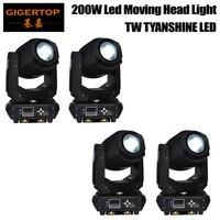 TIPTOP 4 Pack 200W LED Moving Head Lighting spot lighting dj set gobo christmas lights dj light projector for bar party event