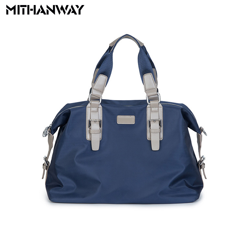 все цены на High Quality Outdoor Men's Women's Sports Bag Tote Duffel Bag Multifunction Portable Travel Workout Gym Fitness Bag Blue