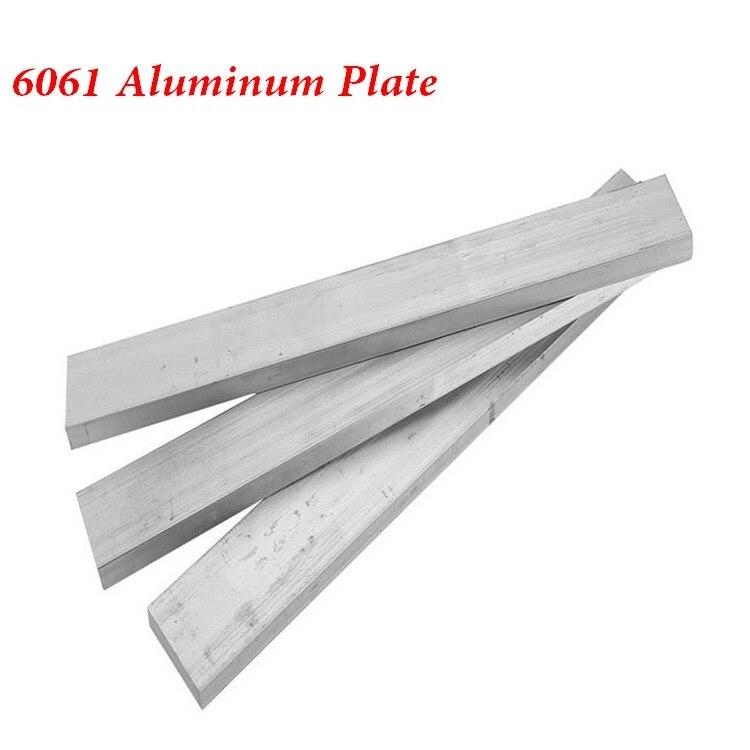 6061 Aluminum Alloy Plate Thickness20 60 200mm AL Sheet Model Parts Car Frame Metal DIY Material