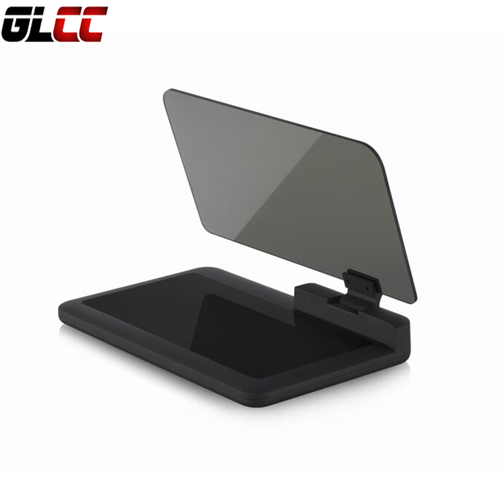Universal H6 font b Smartphone b font Hud Head Up Display Holder Projector Car GPS Navigator
