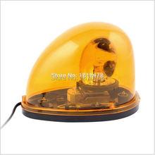 цена на LTD-1201 DC12V DC24V Vehicle Car Yellow Emergency Beacon Rotary Warning Light
