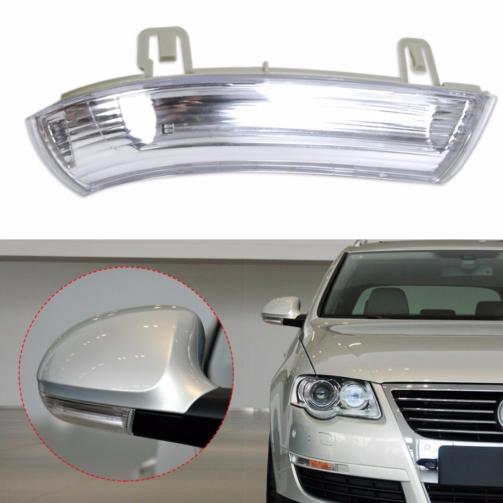 Clear Side Mirror Turn Signal Lens For VW Volkswagen Golf MK5