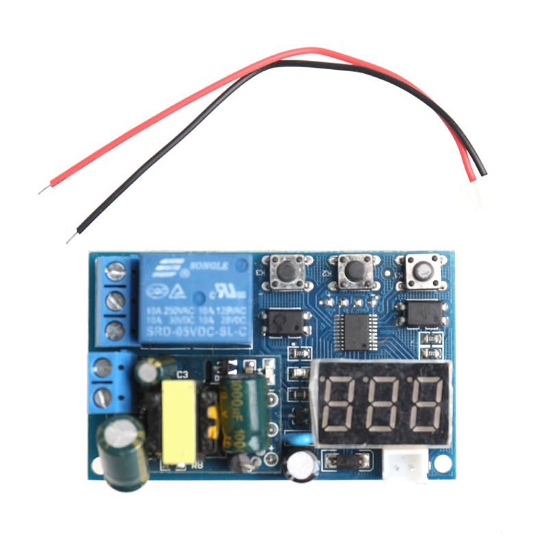 Stair Light Delay Timer Controller  Relay Normally Open Contact Adjustable  W315 stair light delay timer controller relay normally open contact adjustable wifi wireless switch relay delay module 4 way control