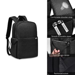 Image 5 - Caden l4 mochila para câmera dslr, bolsa de viagem, ombro, à prova de choque, para canon, sony, nikon, slr, lentes de câmera, tripods, laptop