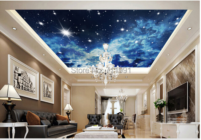 for Ceiling mural in a smoker s lounge