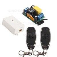 220 V AC Mini Chuyển Đổi Từ Xa Đầu Ra Đầu Vào 220 V Learning Mã ASK RF Chuyển Đổi Không Dây Đài Transmitter Receiver 315/433