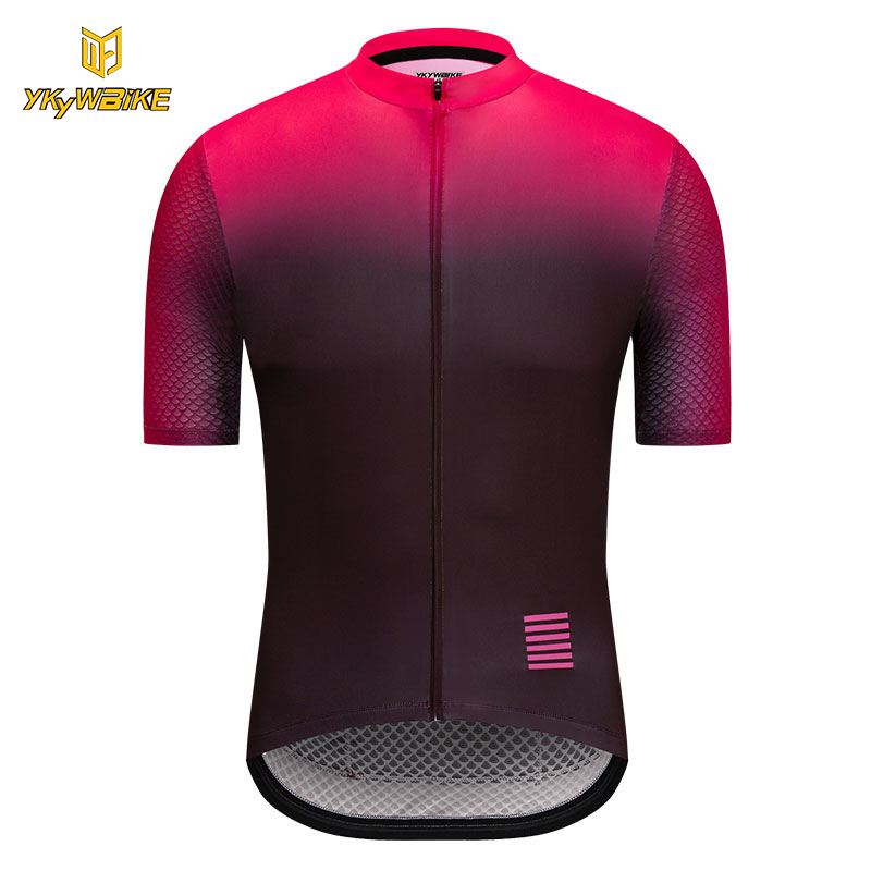 цена на YKYWBIKE 2018 Cycling Jersey Summer Racing Cycling Clothing Ropa Ciclismo Short Sleeve MTB Bike Jersey Shirt Maillot Ciclismo