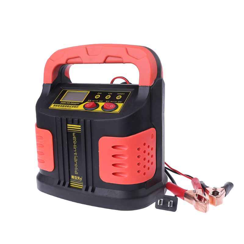 Car Battery Charger 12v24v Intelligent Pure Copper Motorcycle Battery Repair Type Automatic Charger