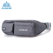 AONIJIE Outdoor Sport Running Waist Pack Racing Hiking Camping Traveling Gym Fitness Anti-Theft Belt Waterproof Nylon Bag