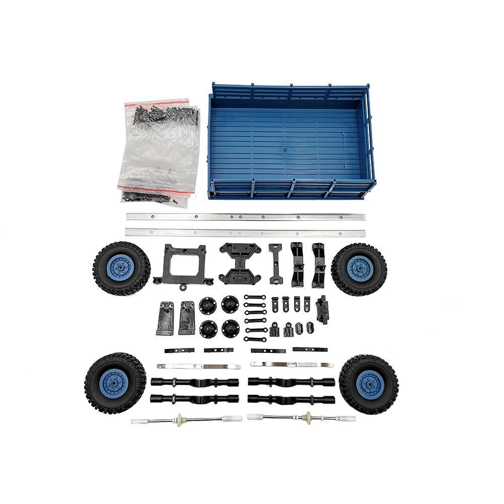 LeadingStar 4 Rad Anhänger Spielzeug EINE Serie von WPL Lkw upgrade die fahrzeug modell Zubehör für WPL B14 B16 B24 c14 C24 D30