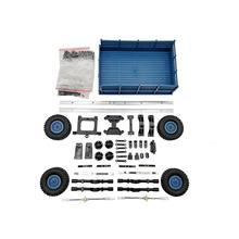LeadingStar 4 Wheel Trailer Toy A Series of WPL Truck upgrade the vehicle model Accessories for WPL B14 B16 B24 C14 C24 D30