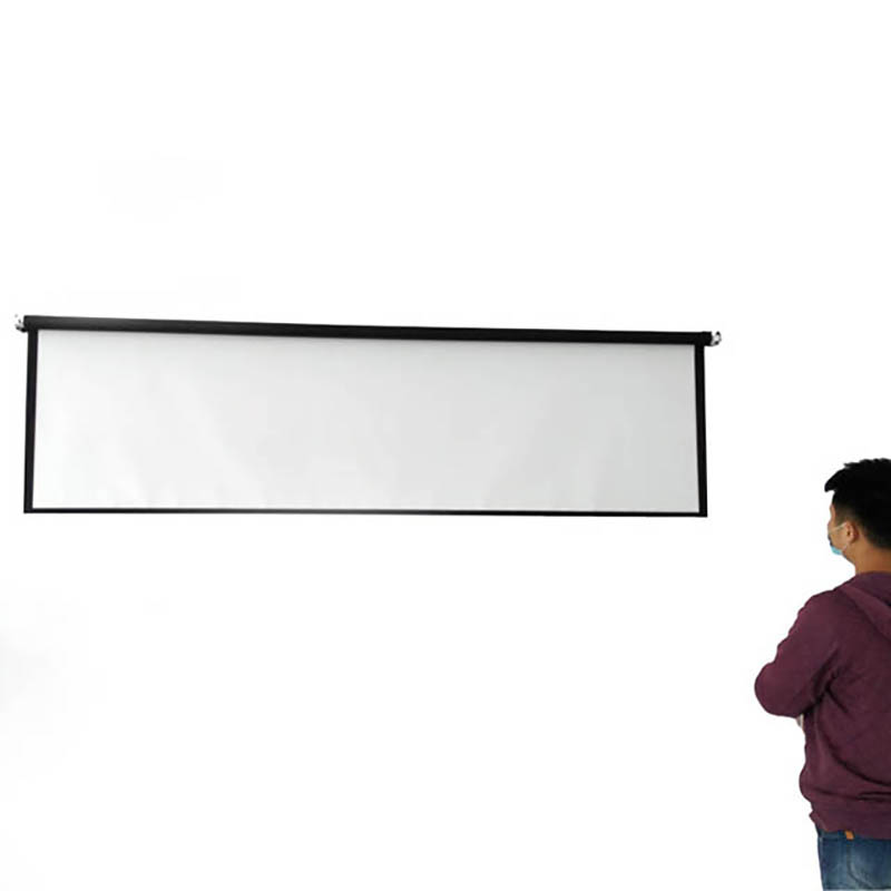 Thinyou zavjese i zaslon ručnog projektora 100 inča 4: 3 pantalla - Kućni audio i video - Foto 5