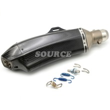 motorcycle accessories Akrapovic muffler pipe scooter exhaust pipe carbon fiber For BMW HP2 Megamoto  R  1200GS    HP2 SPORT