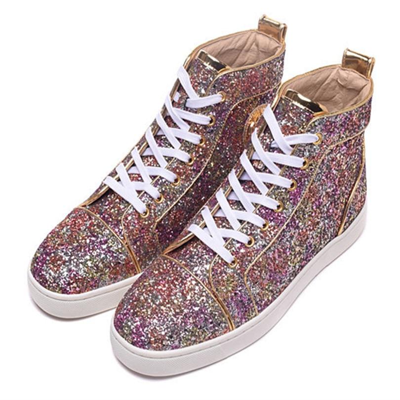 Shoes Pano Deportivas Superstar Homens As Moda Pic Plana up Nova Casuais 2017 as Chaussure Pic Sapatos Zapatillas Lantejoulas Lace Hombre Homme De wq6p8xI7