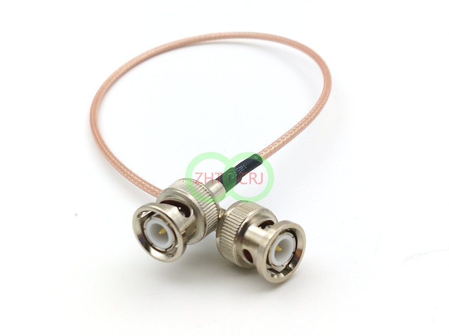 500PCS Cable RG316 coaxial cable BNC male TO BNC male connector adapter