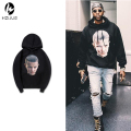 2017 New Hot Fleece Stranger Things Men Sweatshirt Warm Cotton Hooded Hip Hop Hoodies Men Plus Size Sweatshirts S-XXL