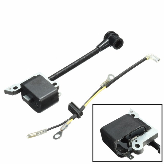 US $7 91 6% OFF|New Ignition Coil For Husqvarna 136 137 141 23 235 240 26  36 41 Chainsaw 30039143 545199901-in Ignition Coil from Automobiles &