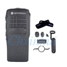 Черный Замена переднего Корпус чехол для Motorola двухсторонняя радиорация GP328