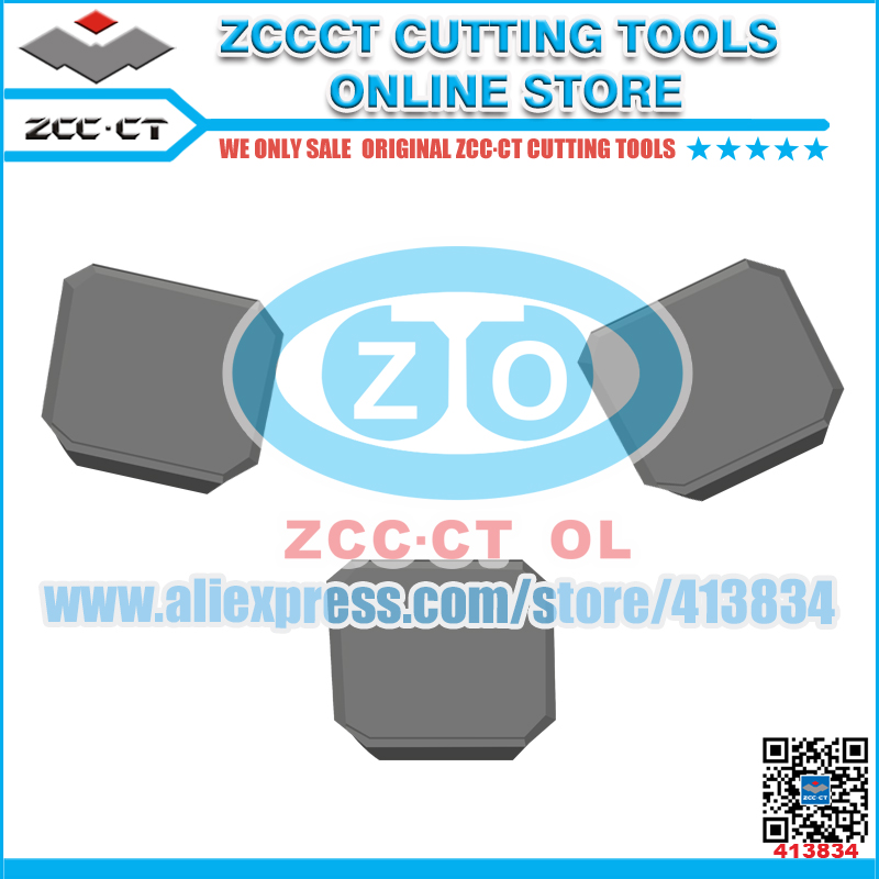 Free Shipping ZCCCT cutting tool cnc inserts 1 pack zccct cutting tool cnc milling inserts lathe tools cutter plate 1 pack