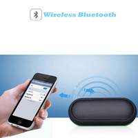BT 18 Waterproof Outdoor Sports Anti fall Wireless Portable Bluetooth Speakers For Showers Bathroom Car Better Bass Portable