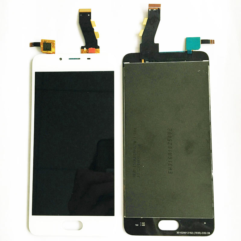LCD Display Touch Screen Digitizer Assembly Replacement Accessories For Meizu U10 MT6750 Octa Core 5.0 Inch Cell Phone