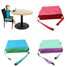 Children Increased Pad Baby Booster Seat Cushion Adjustable Removable Kids Dining Chair High Quality(China)