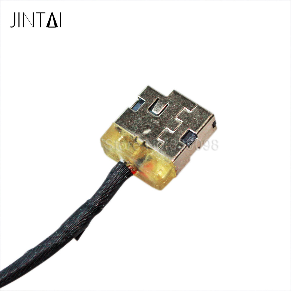 10PCS Jintai NEW DC POWER JACK SOCKET CONNECTOR HARNESS PLUG IN CABLE FOR HP ENVY 15 P/N: 713705-YD4 SD4 FD4 genuine new laptop dc power jack harness plug in cable wire connector for hp probook 4530s 4730s 6017b0300201 free shipping