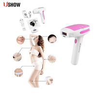 USHOW Laser IPL Permanent Hair Removal Machine Body Face Painless Shaving Epilator Kit Hair Remover
