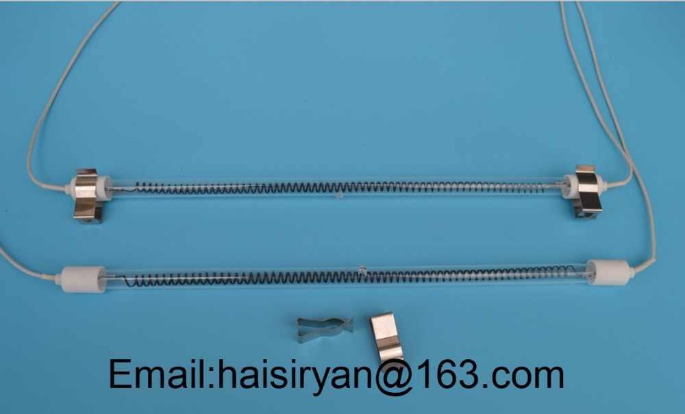 medium wave ir emitter halogen bulb radiant tube heater quartz Reznor Heater Wiring Diagram