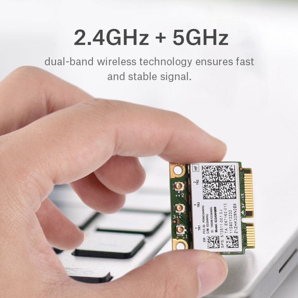2.4/5G Double-Bande Mini PCI-E Wifi Adaptateur Carte pour Lenovo pour Lenovo pour IBM pour Intel 6300 AGN Wi-fi carte