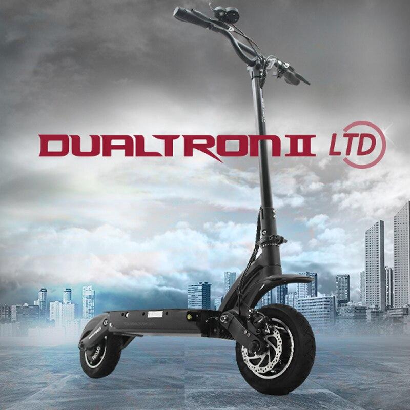 Prix pour 2017 Corée Conception Plus Puissant Dualtron II Scooter Électrique 60 V 1600 W