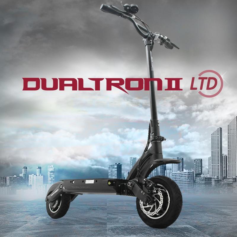 2017 Корея дизайн самый мощный Dualtron второй Электрический самокат 60В 1600ВТ