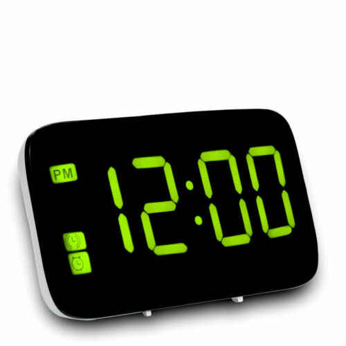 Digitale Sveglia orologio di Modo Multi-Funzione LED di Allarme Orologio di Alimentazione USB di Alimentazione Digitale di Allarme Orologio Voce Display A LED di Grandi Dimensioni di controllo
