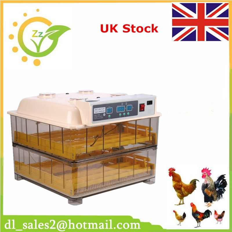 Chicken incubators for sale fully automatic digital thermostat incubator for 96 eggs brand new digital fully automatic 96 eggs incubator eggs turner for chicken hens ducks