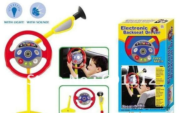 promotion!, Steering wheel toy, electronic backseat driver, musical ...