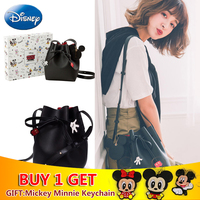 Disney Mickey Mouse Bags PU Houlder Bag Gift Large Capacity Women Classic Handbag Fashion Travel Storage girl Plush Backpack